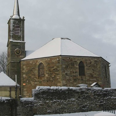 Dreghorn Church Snow