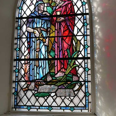 Dreghorn Church Stain Glass Window3